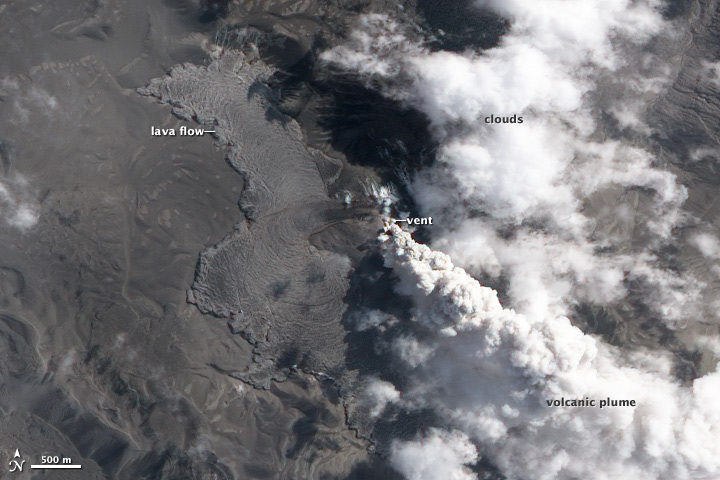 Evidence of Fresh Lava at Puyehue-Cordón Caulle