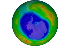 2011 Antarctic Ozone Minimum