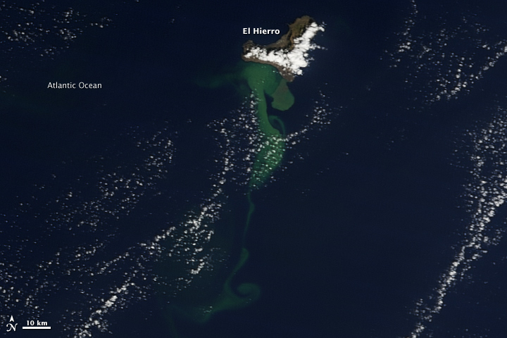 El Hierro Submarine Eruption