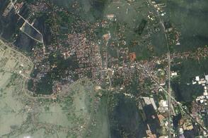 Floods Swamp Historic City in Thailand