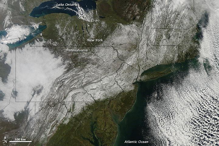 Heavy Snow in Northeastern United States