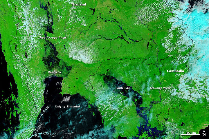 Flooding in Southeast Asia