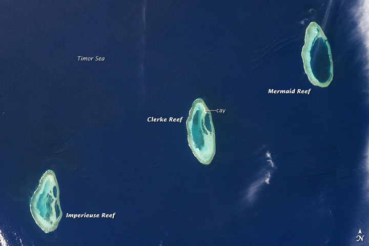 Rowley Shoals, Timor Sea