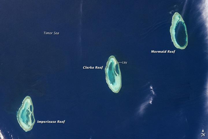 Rowley Shoals, Timor Sea