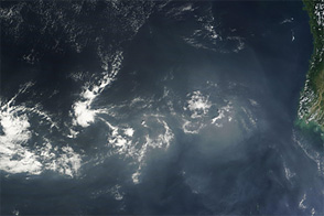 Haze over the Bay of Bengal