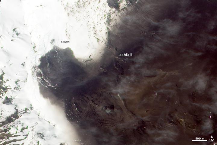 Cerro Hudson Volcano, Chile