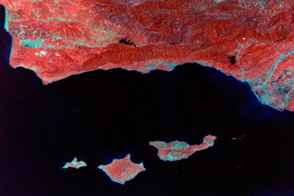 Landsat in Memory of the World Register - selected image
