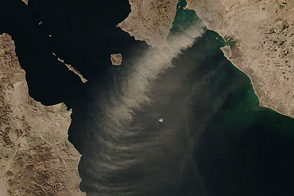 Dust Storms in Mexico