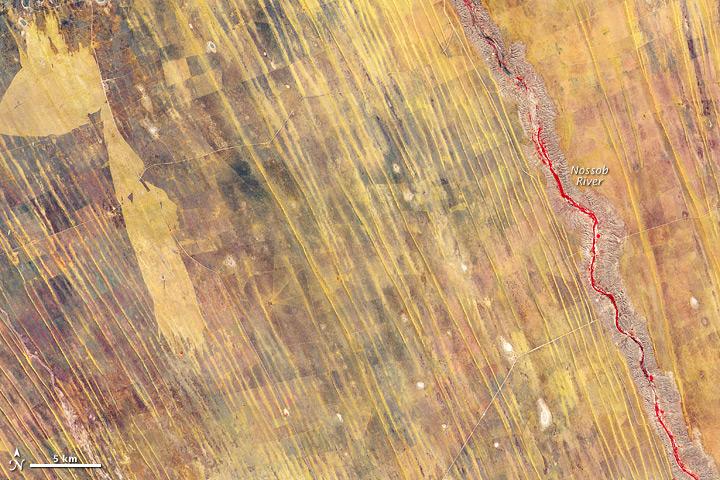 Eastern Namibia Sand Dunes
