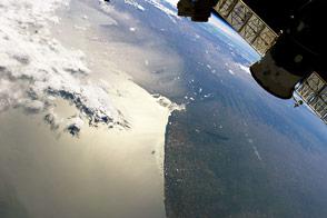 Dust Plume over the Bahia Blanca