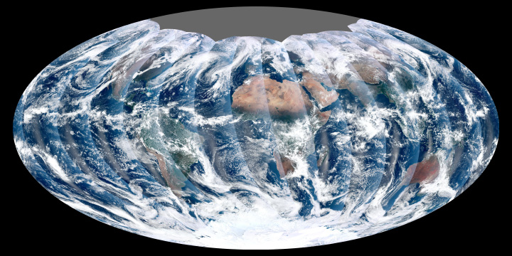 First Global Image from VIIRS