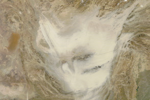 Afghanistan Dust Storm