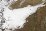 Blizzard Moves Across Southwest United States
