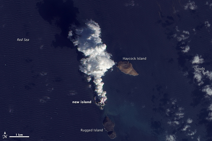 Volcanic Activity in the Red Sea