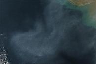 Haze over the Arabian Sea