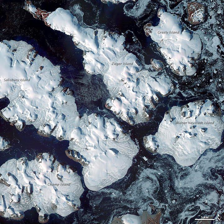 Frozen Franz Josef Land