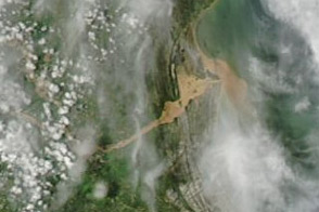 Flooding in Southeastern Brazil