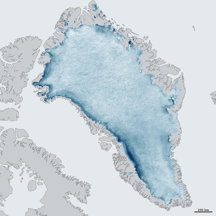 Greenland's Ice Is Growing Darker
