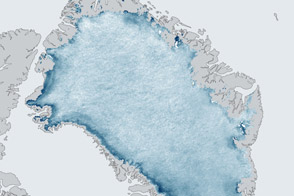 Greenland's Ice Is Growing Darker