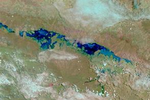 Flooding in Northwestern Australia