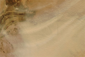 Sahara Desert Dust Storm