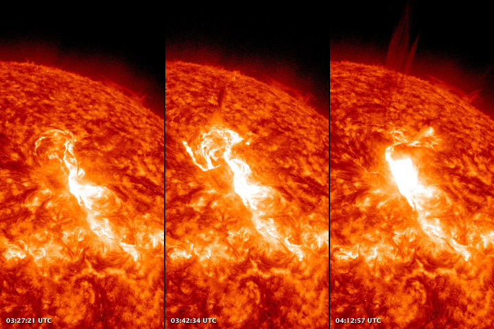 The Sun Flares with Activity - related image preview