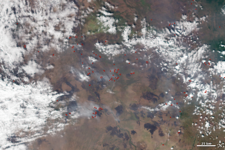 First Fire Images from VIIRS - related image preview