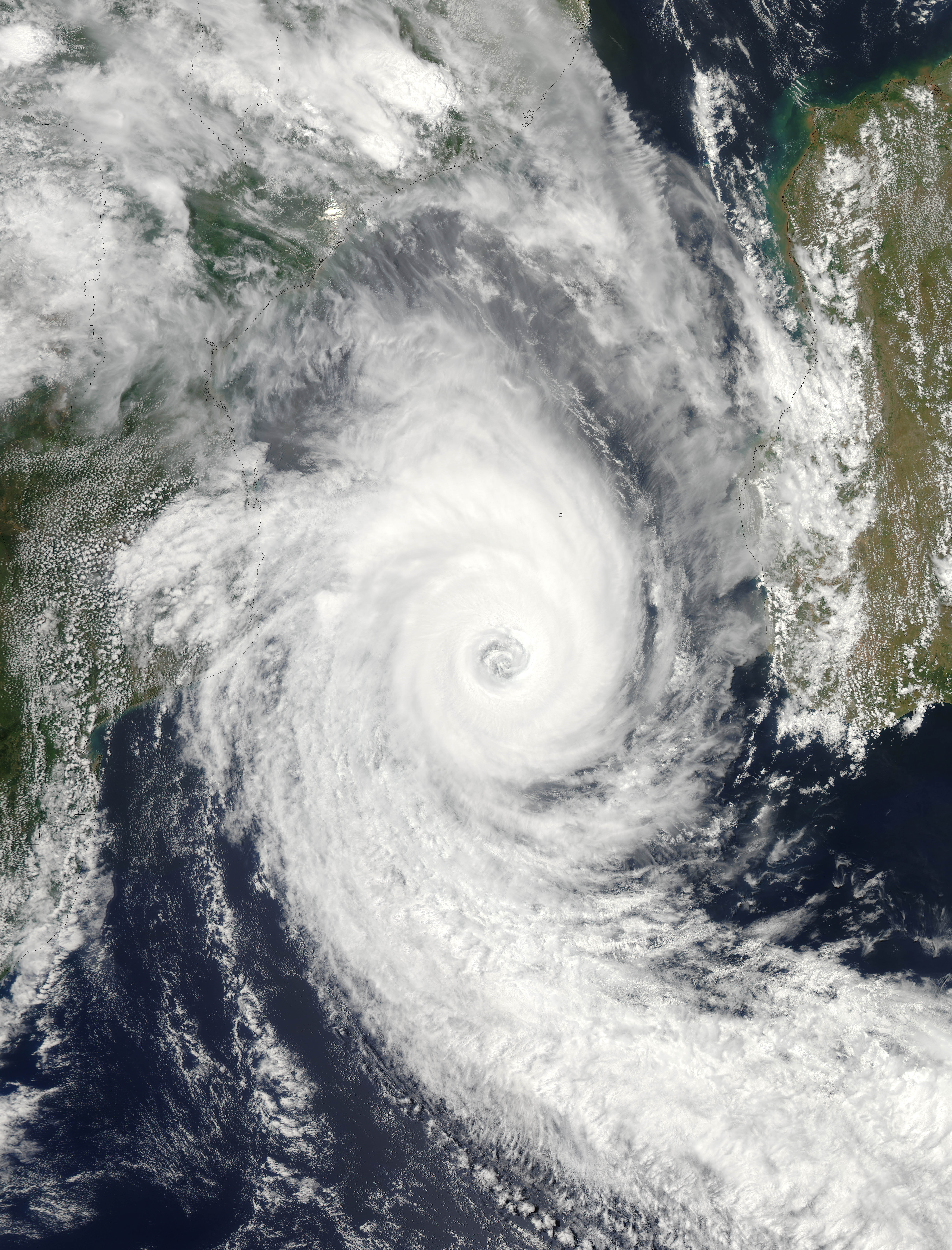 Tropical Cyclone Funso  - related image preview
