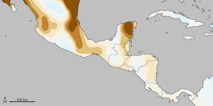 Mayan Deforestation and Drought