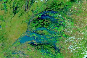 Flooding in Southeastern Australia