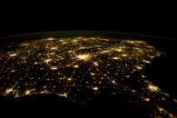 Southeastern USA at Night