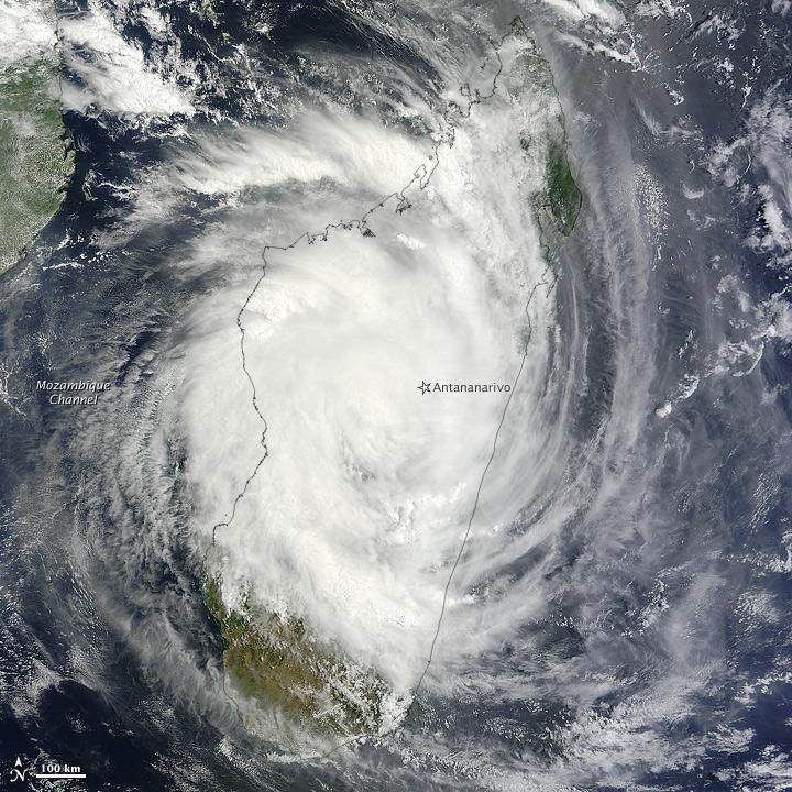 Tropical Cyclone Giovanna