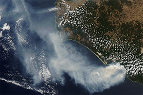 Fires in Southwestern Australia - selected child image