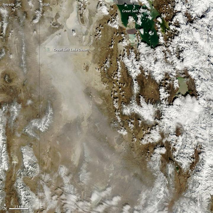 Dust Storm in Utah