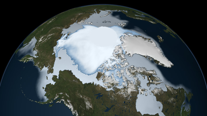 Oldest Arctic Sea Ice is Disappearing - related image preview