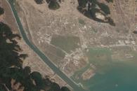 Closeup of Tsunami Damage, Rikuzentakata