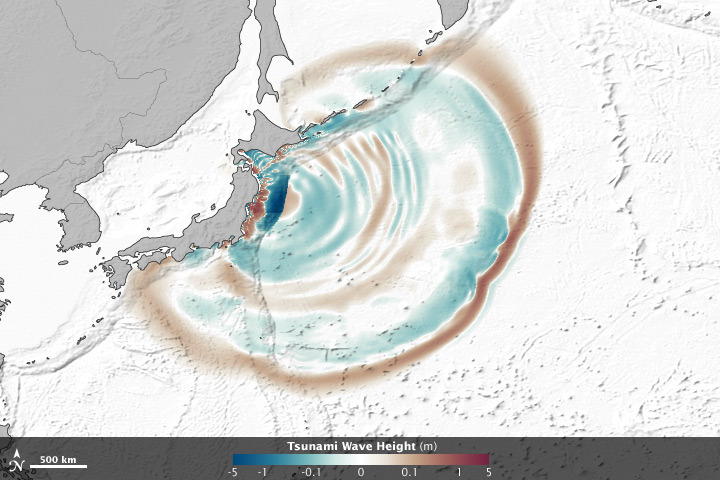 The Seafloor Focuses and Merges Tsunami Waves - related image preview