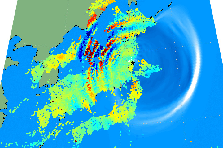 Quake and Tsunami Makes Waves in the Atmosphere - related image preview
