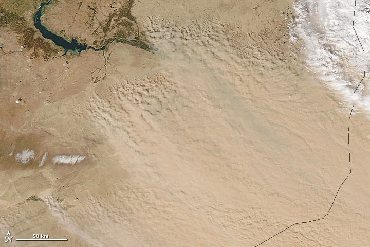 Dust Storm in Syria and Iraq