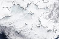 Bering Sea Teeming with Ice