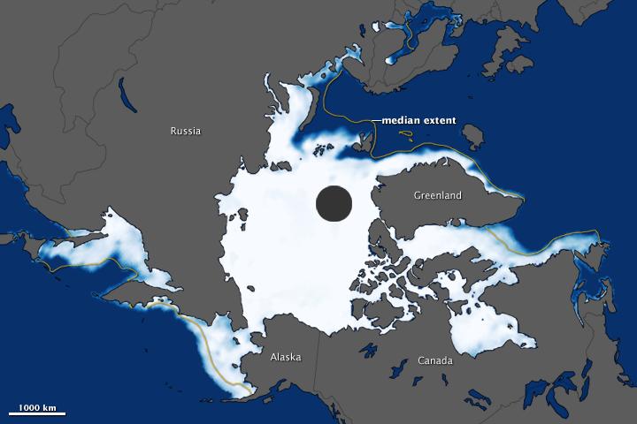 Arctic Sea Ice Maximum 2012 - related image preview