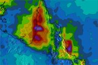 Heavy Rains in Northeastern Australia