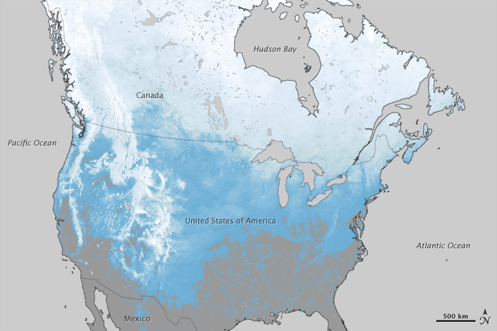Canada Snowfall Map Snow Deficit