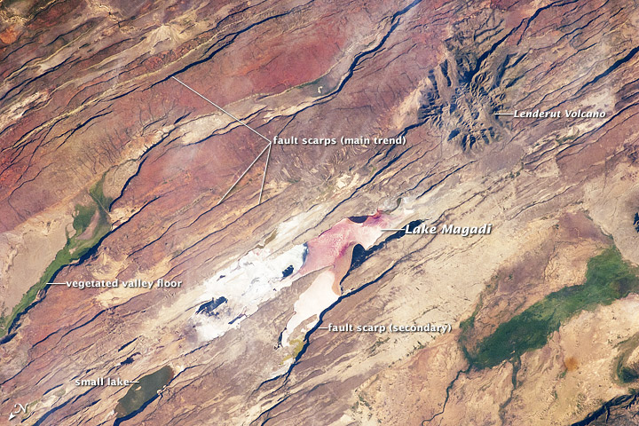 East African Rift Valley, Kenya