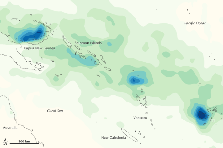 Heavy rains in the south pacific islands image of the day heavy rains in the south pacific islands gumiabroncs Choice Image