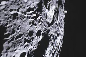 Students Look Homeward from the Moon - selected image