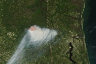 County Line Fire in Florida