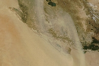Dust over Iraq