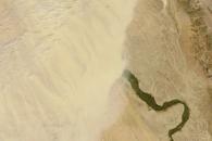 Dust over Egypt