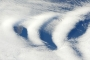 Wave Clouds Near Île aux Cochons, Southern Indian Ocean